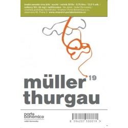 Müller Thurgau 2019.